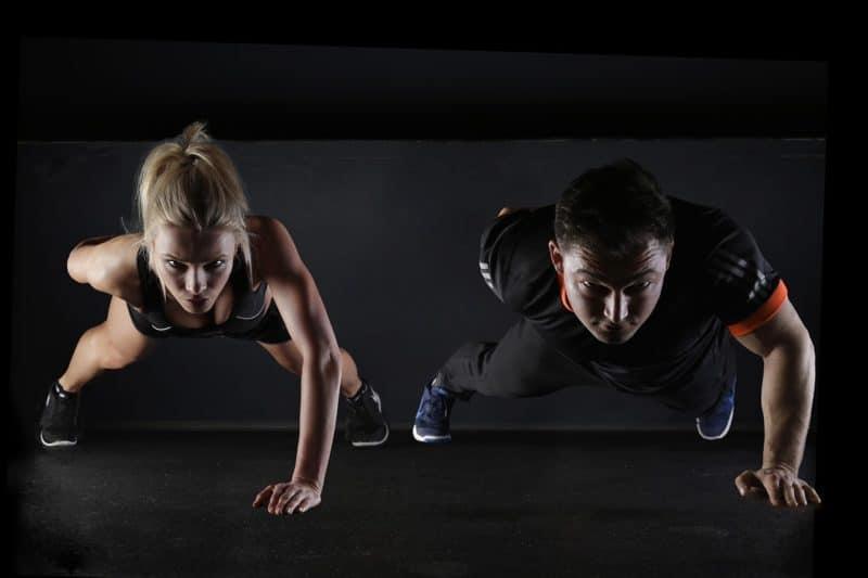 Muskeln aufbauen und abnehmen