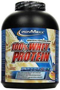 IronMaxx 100% Whey Protein Pulver